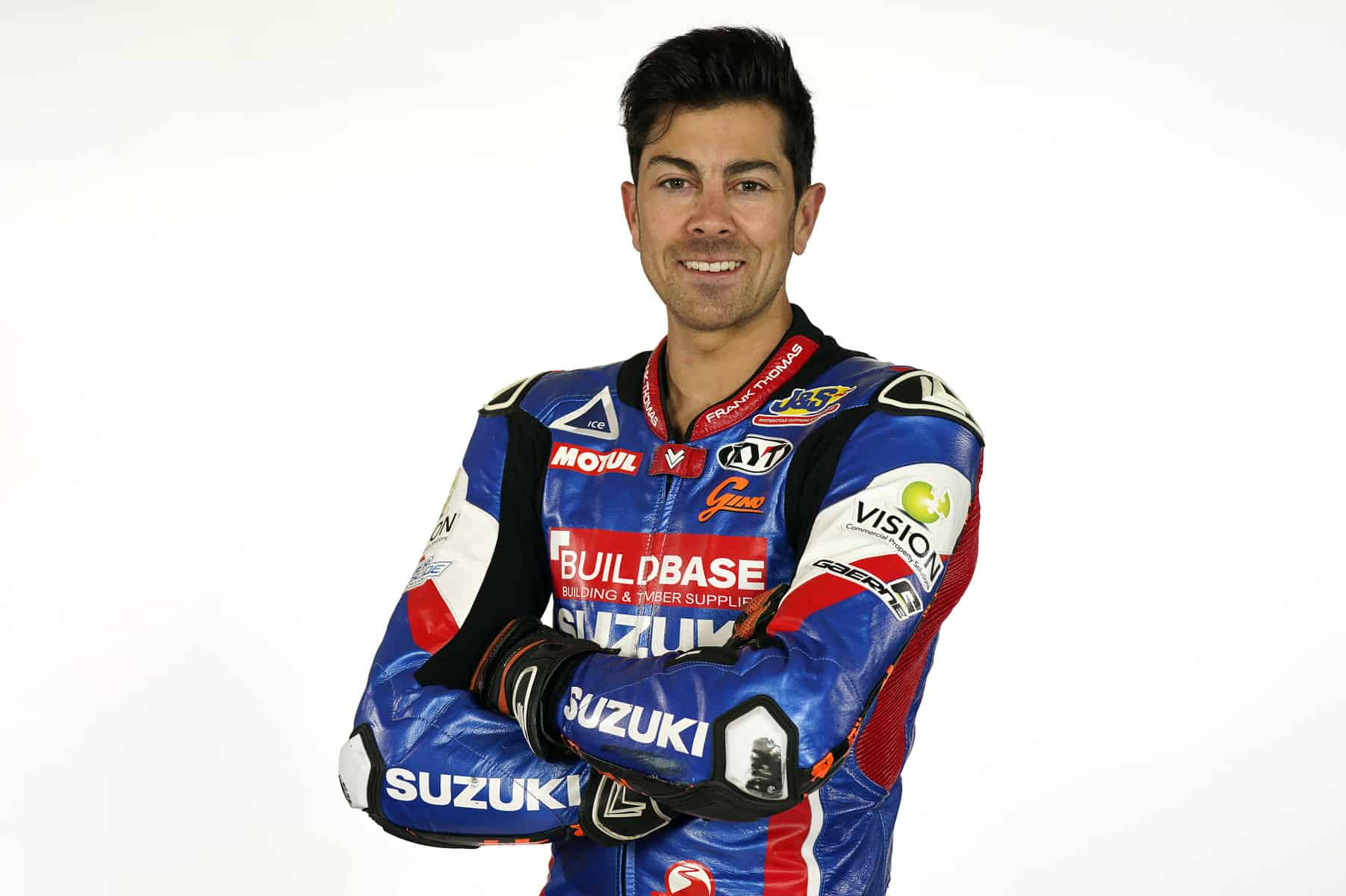 Gino Rea: an English professional motorcycle racer of Italian descent